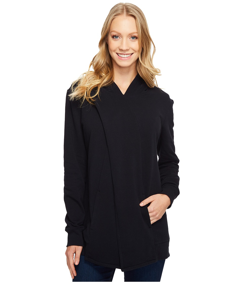 Lucy - Keep Calm Pullover Wrap (Lucy Black) Women's Sweatshirt