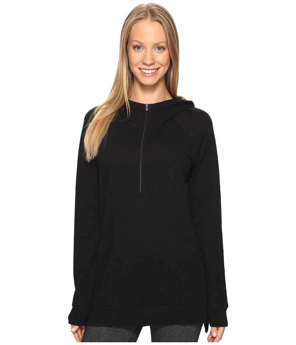 Lucy - OM 1/2 Zip Pullover (Lucy Black) Women's Sweatshirt