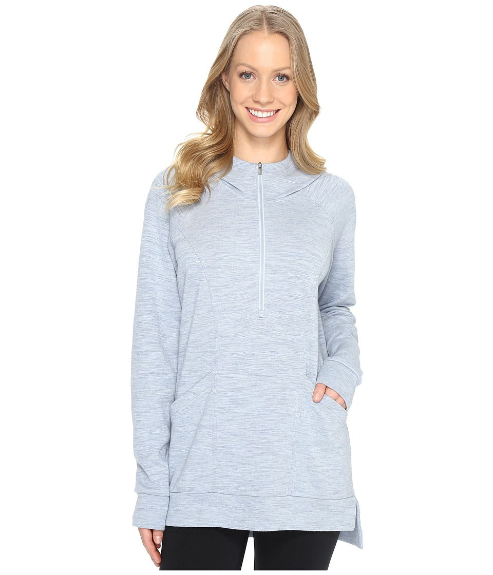 Lucy OM 1/2 Zip Pullover (Blue Fog Heather) Women