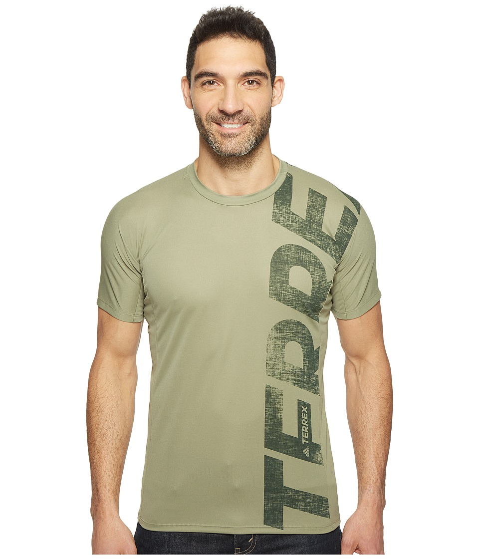 adidas Outdoor - Trailcross Tee (Trace Cargo) Men's T Shirt