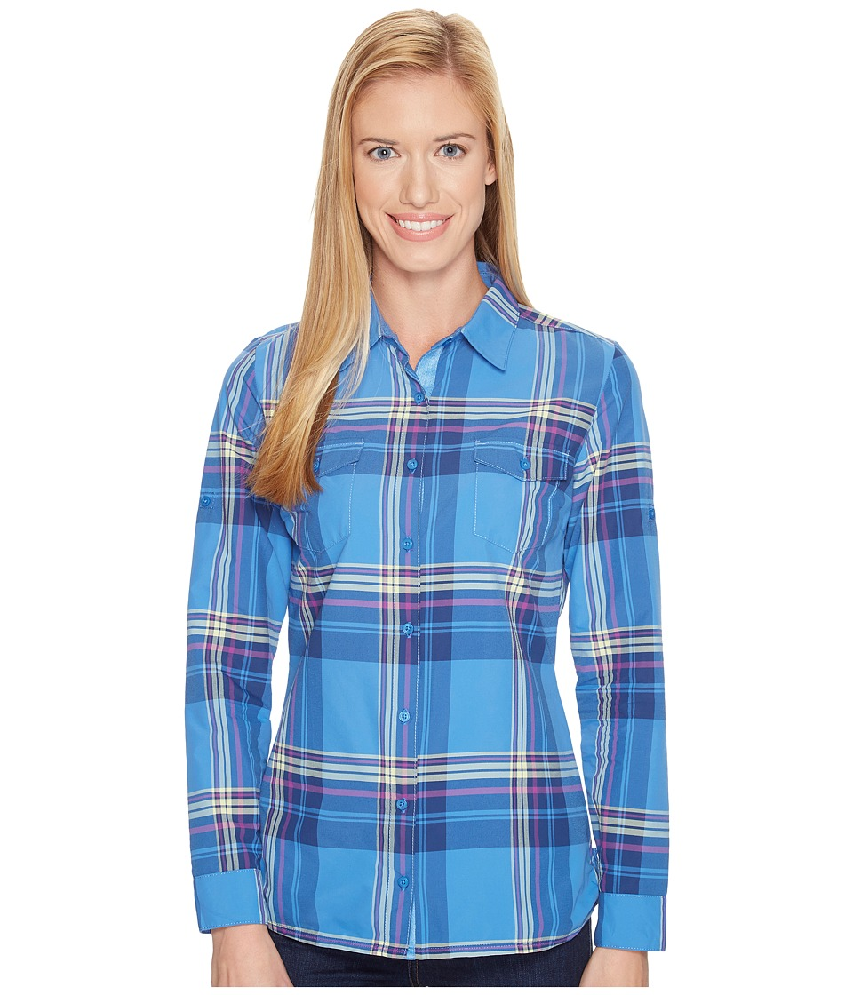 KUHL - Mable Long Sleeve Shirt (Atlantis) Women's Long Sleeve Button Up