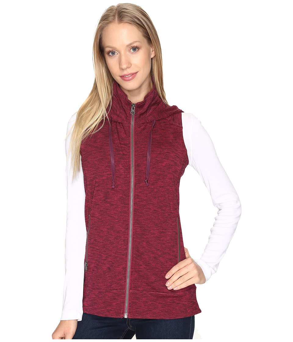KUHL Mova Hooded Vest (Plum Heather) Women