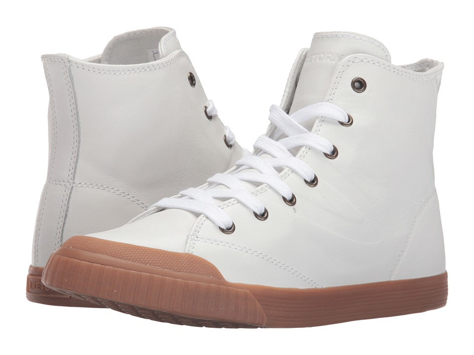 Tretorn - Marley HI2 (White/Honey) Women's Lace up casual Shoes