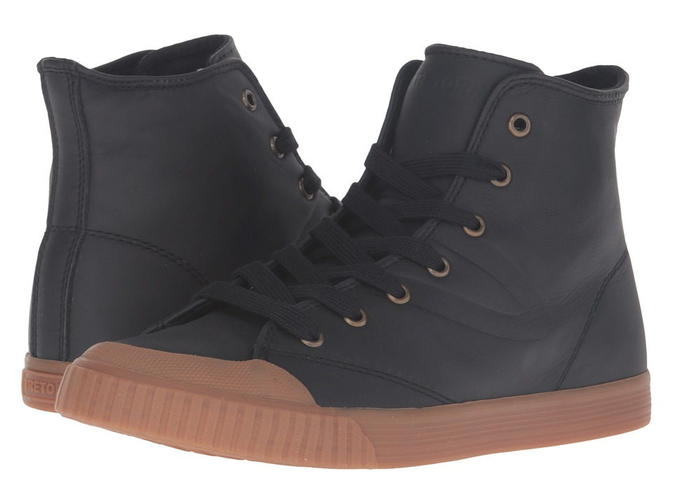 Tretorn - Marley HI2 (Black/Honey) Women's Lace up casual Shoes