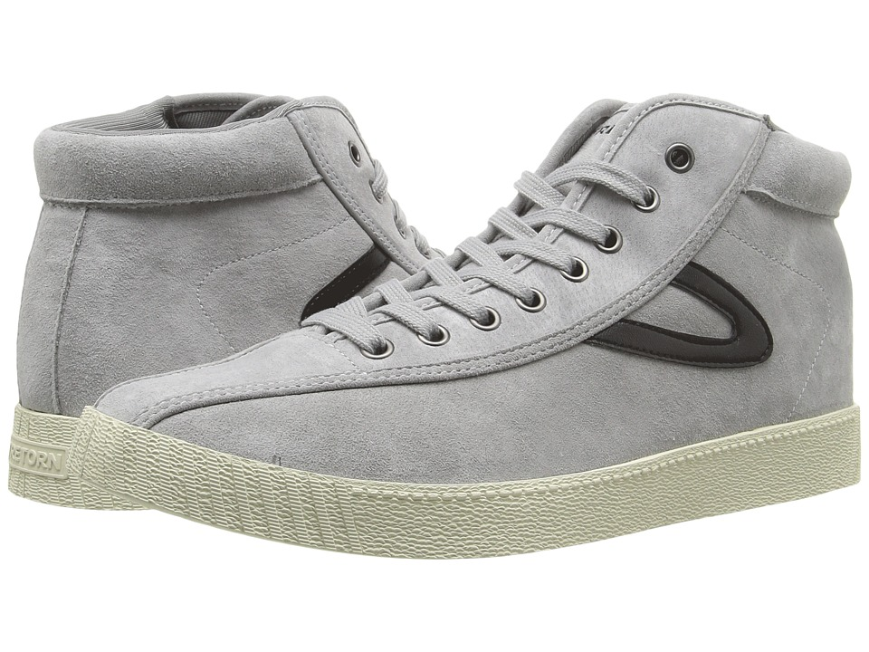 Tretorn - Nylite HI7 (Grey/Grey/Black) Men's Lace up casual Shoes
