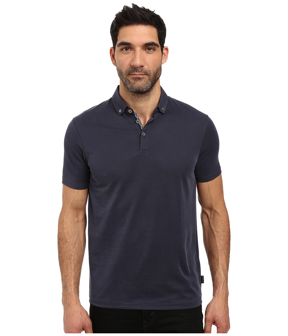 Ted Baker - Missow Polynosic Polo (Mid Blue) Men's Clothing
