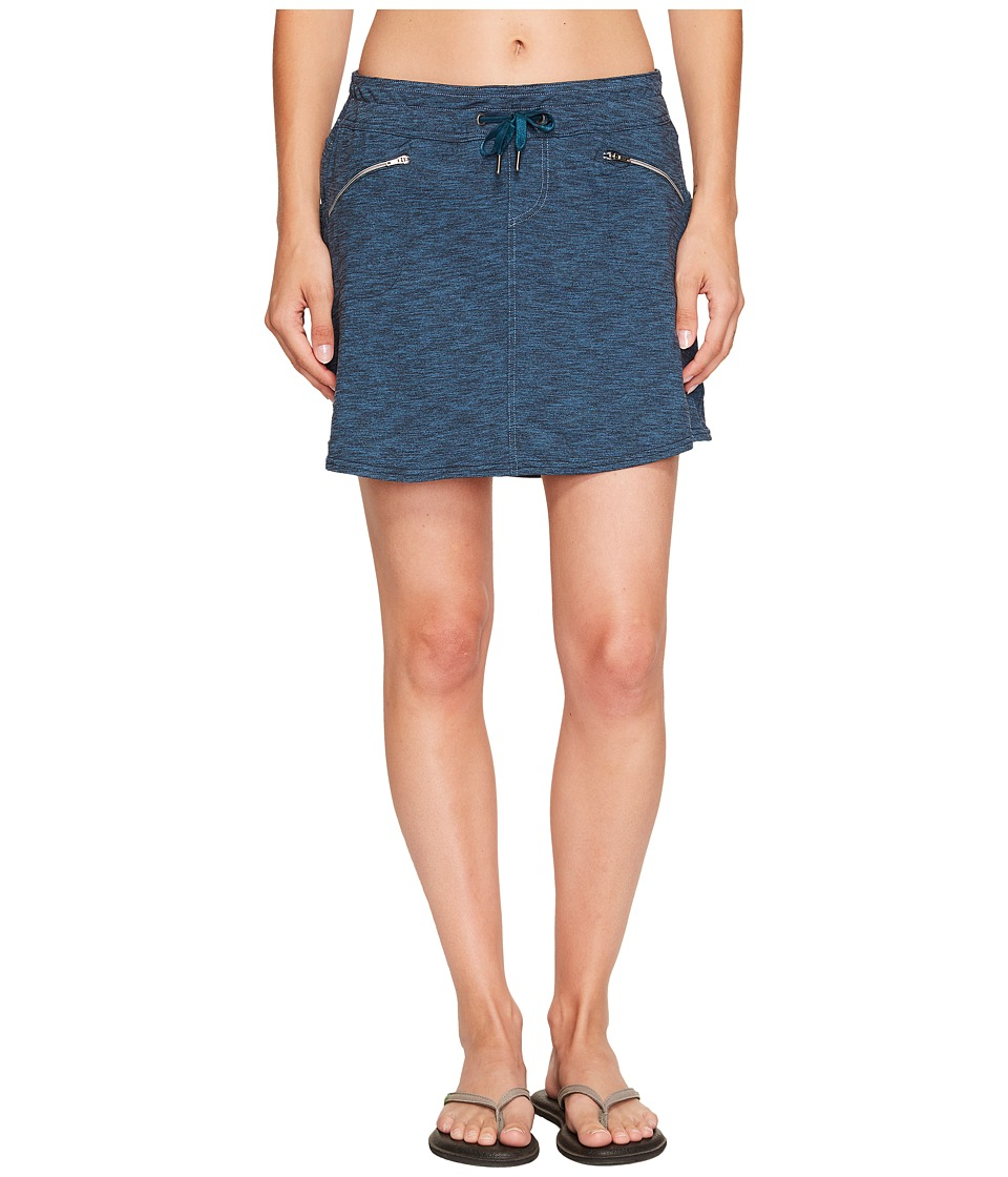 KUHL - Mova Zip Skort (Blue Depths Heather) Women's Skort