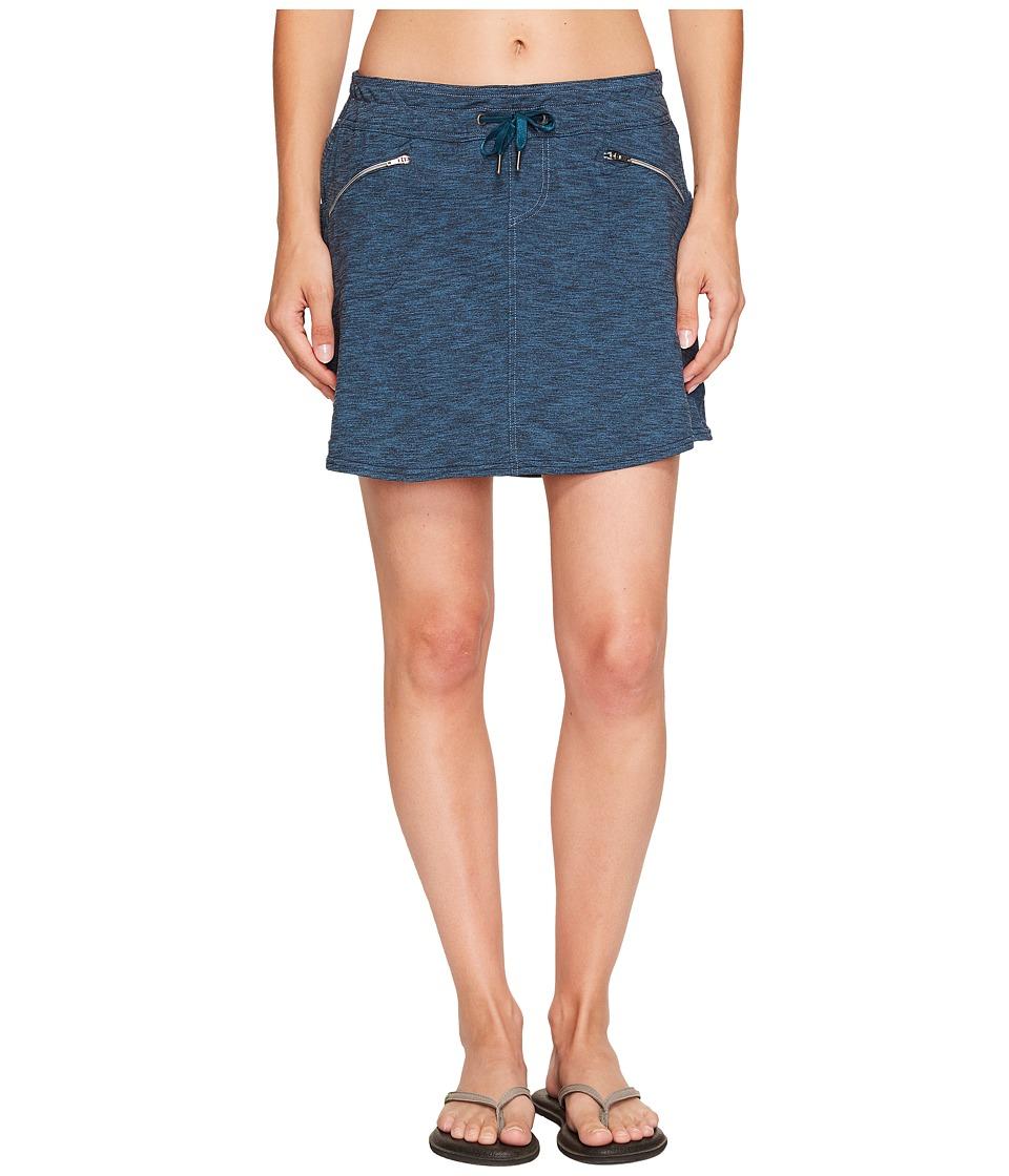 KUHL - Mova Zip Skort (Blue Depths Heather) Women's Skort