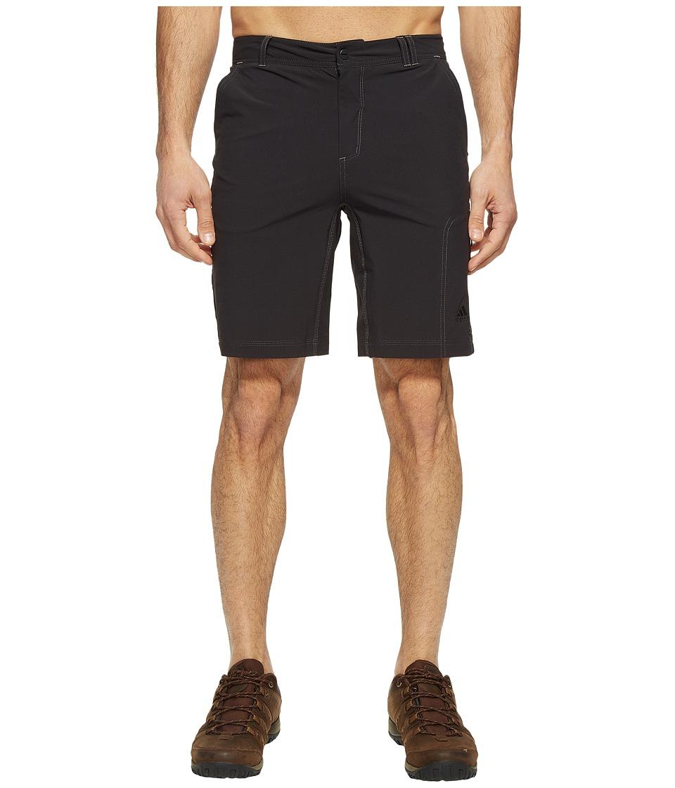 adidas Outdoor - Lite Hike Flex Shorts (Black) Men's Shorts