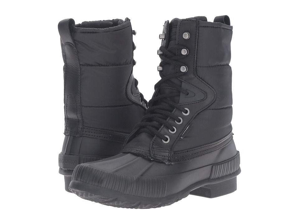 Tretorn - Foley (Black/Black) Women's Lace-up Boots