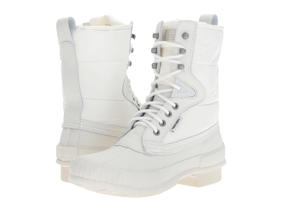 Tretorn - Foley (White/White) Women's Lace-up Boots