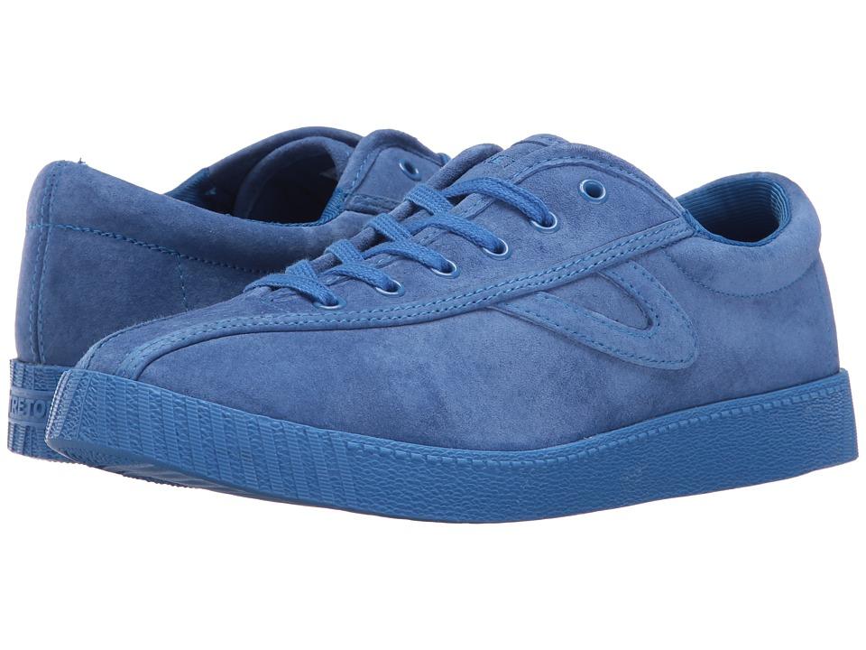Tretorn Nylite 3 Plus (Blue/Blue/Blue) Women's Lace up casual Shoes
