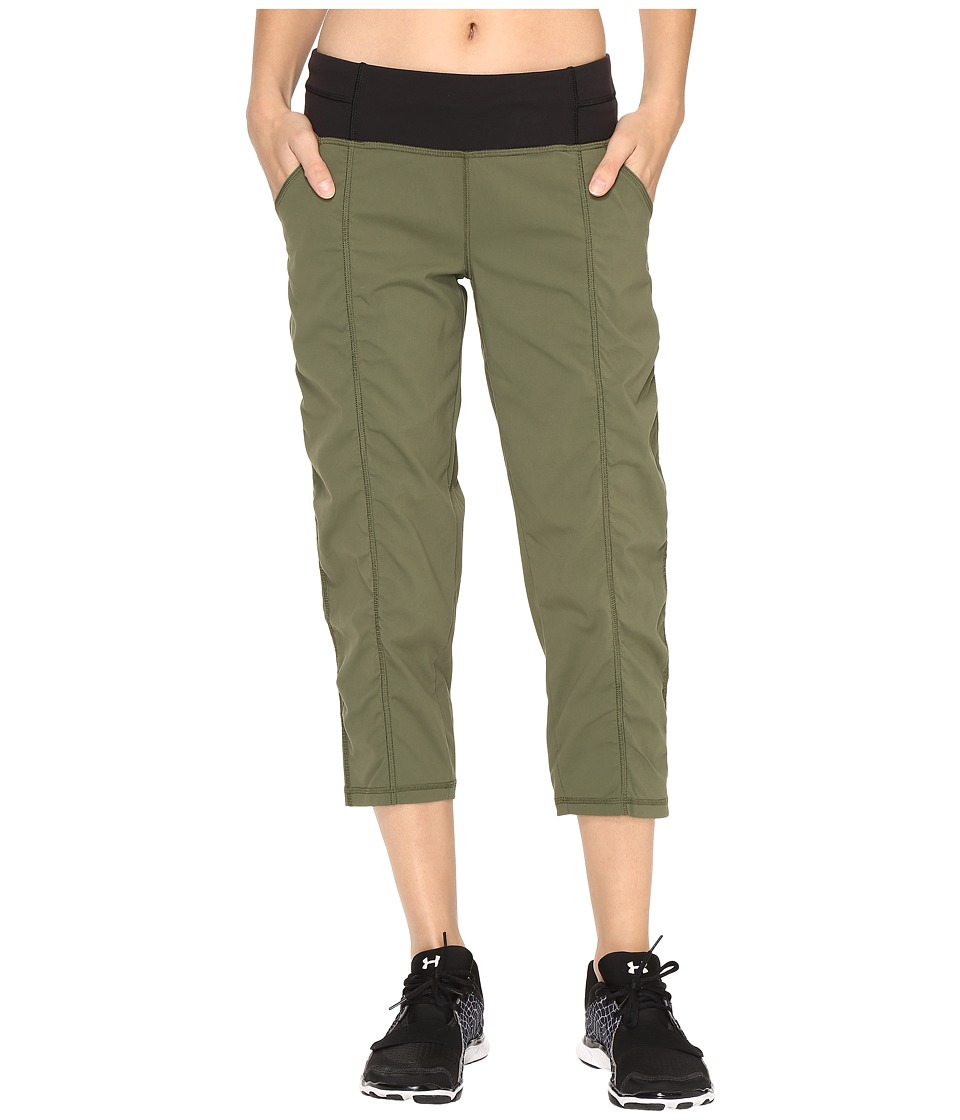 Lucy - Get Going Capri (Rich Olive) Women's Workout