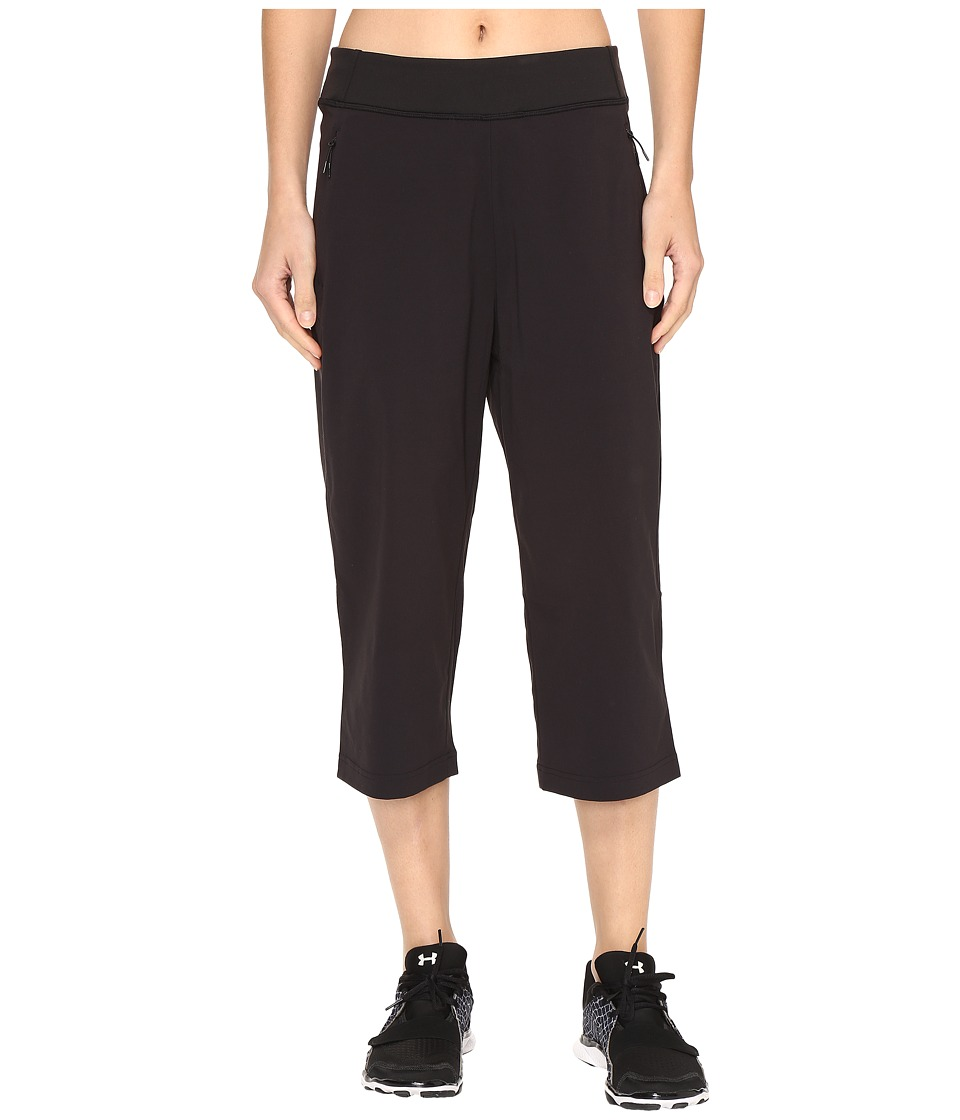 Lucy Take It in Stride Capris (Lucy Black) Women
