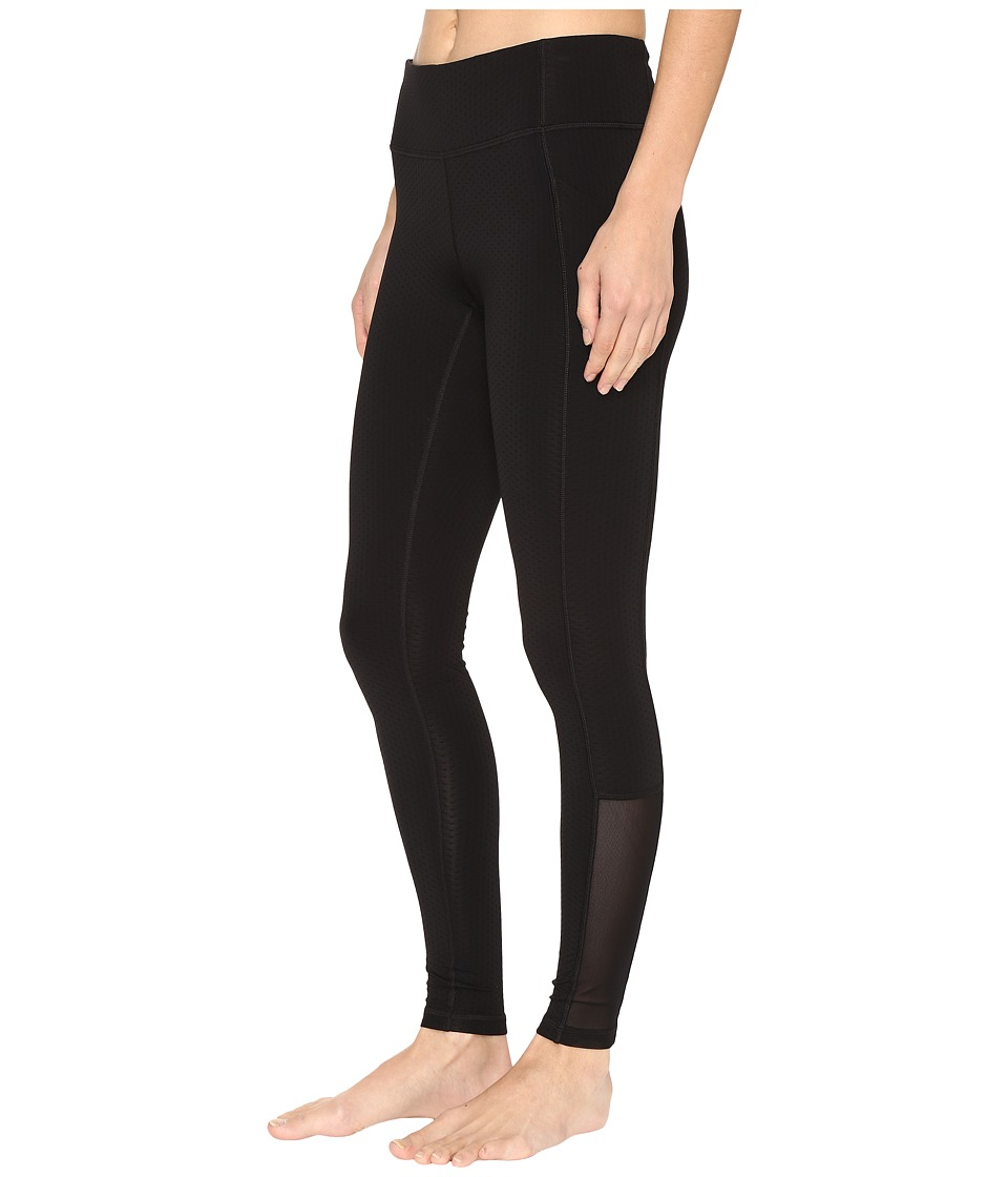 Lucy - No Excuses Tights (Lucy Black Tech Dot) Women's Workout