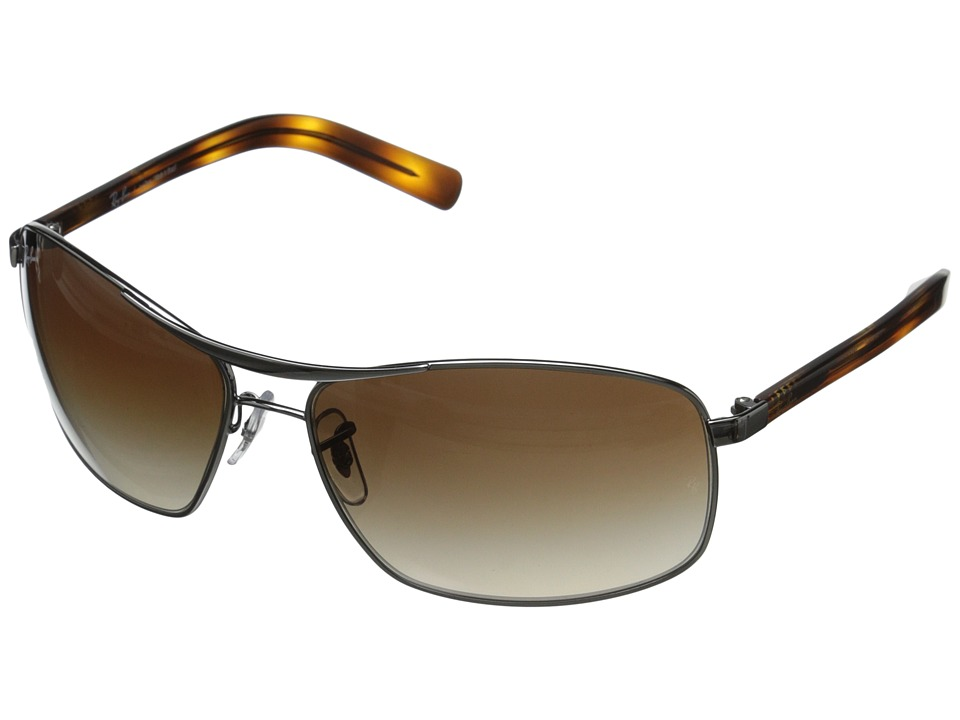 Ray-Ban - 0RB3470L (Silver) Fashion Sunglasses