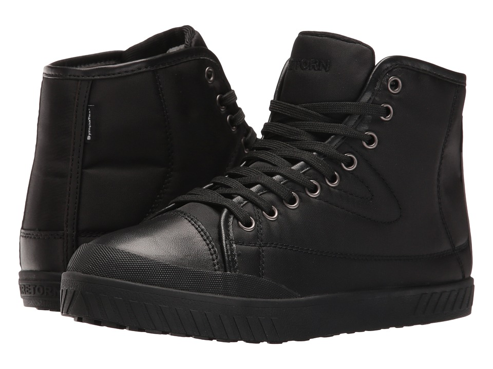 Tretorn Bailey 4 (Black/Black/Black) Women