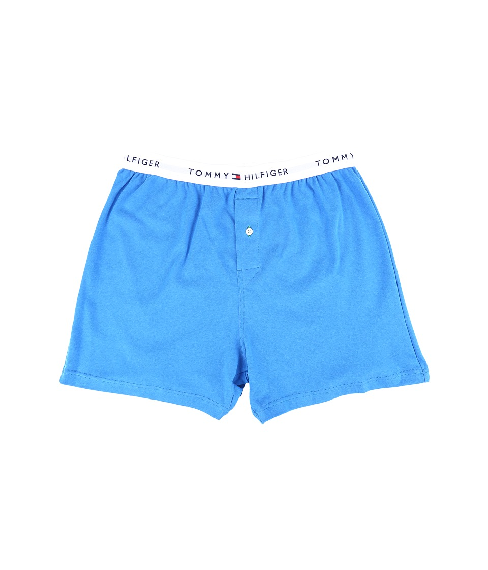 Tommy Hilfiger - Tommy Woven Boxer (French Blue) Men's Underwear