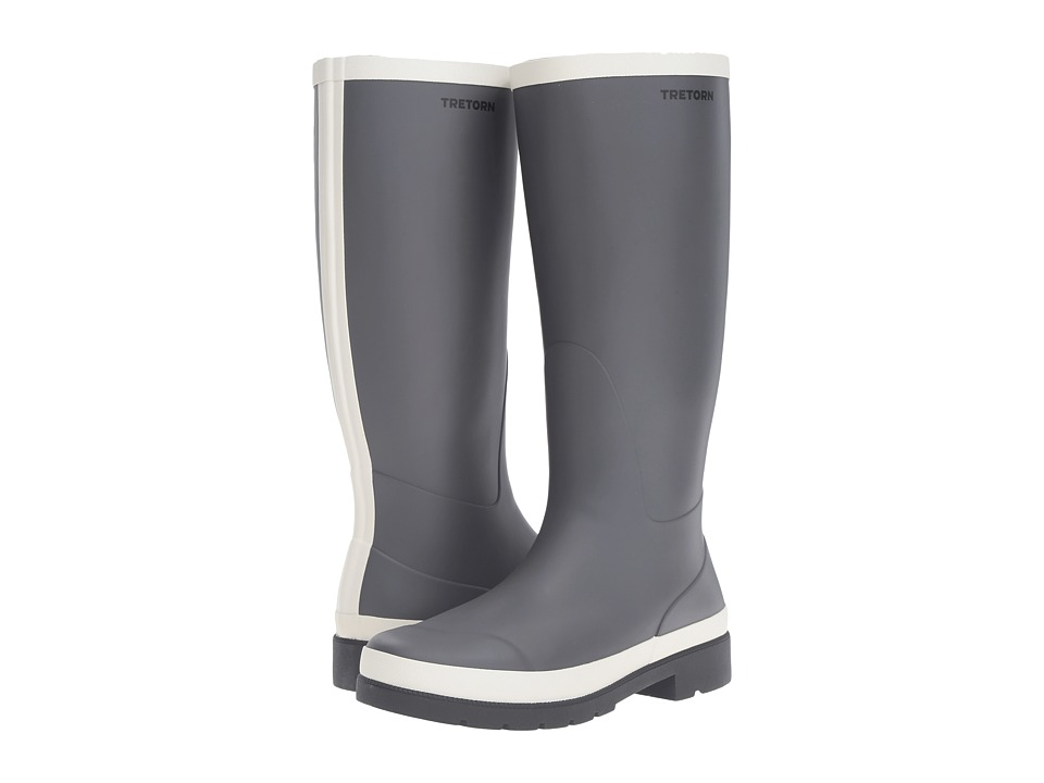 Tretorn Leah (Dark Grey/Winter White) Women