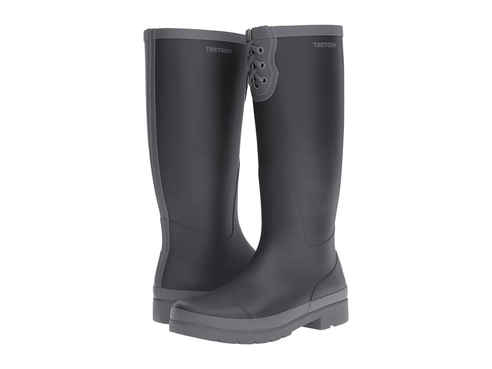 Tretorn - Lacey (Black/Dark Grey) Women's Boots