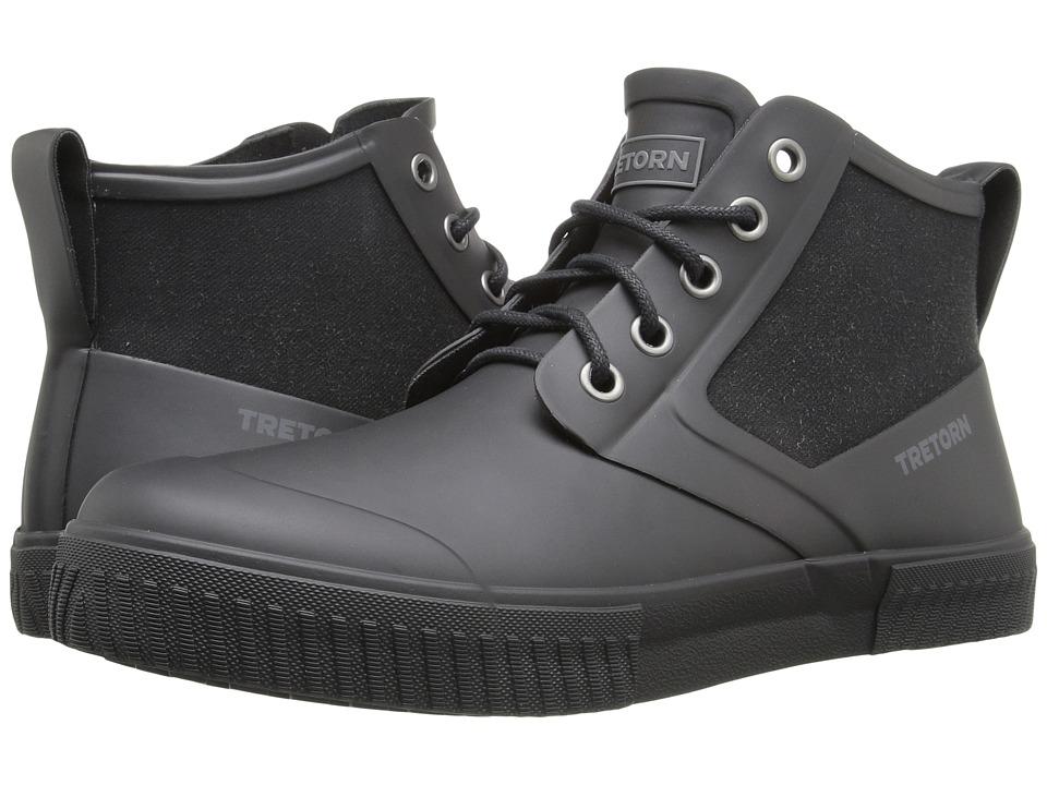 Tretorn - Gill (Black/Black) Men's Lace up casual Shoes