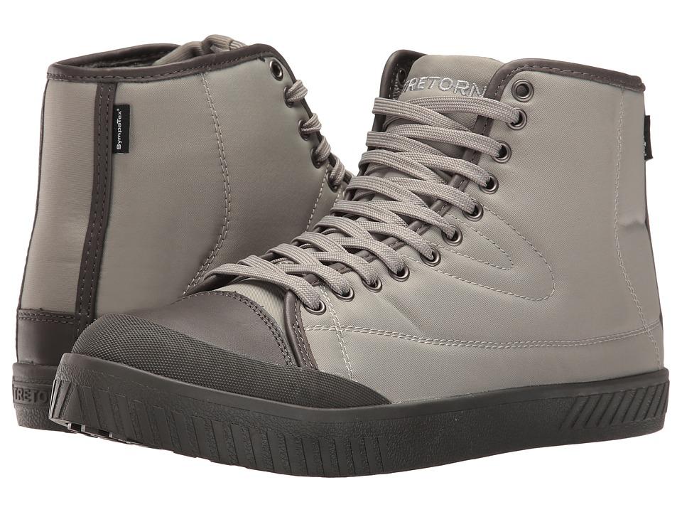 Tretorn Bailey 4 (Grey/Grey/Grey) Men's Lace up casual Shoes