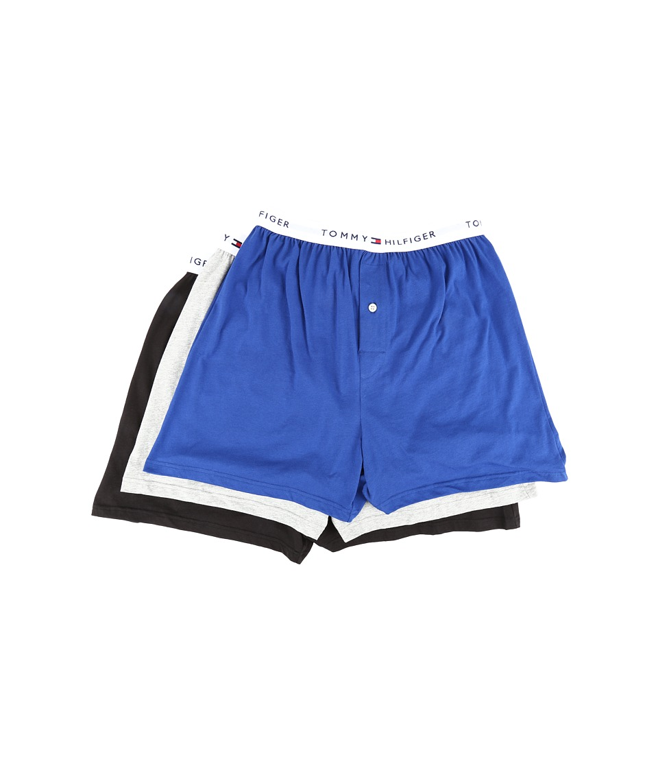 Tommy Hilfiger - Cotton Knit Boxer 3-Pack (Bluebird) Men's Underwear