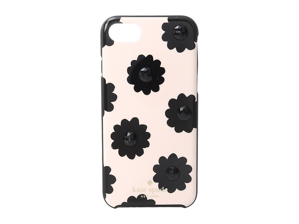 Kate Spade New York - Jeweled Brush Floral Phone Case for iPhone 7 (Au Naturel Multi) Cell Phone Case