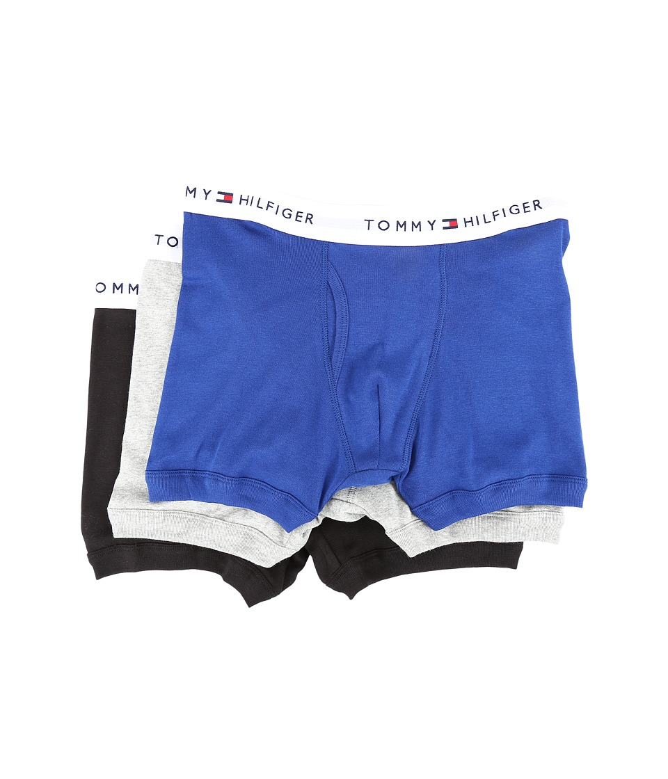 Tommy Hilfiger - Cotton Trunk 3-Pack (Bluebird) Men's Underwear