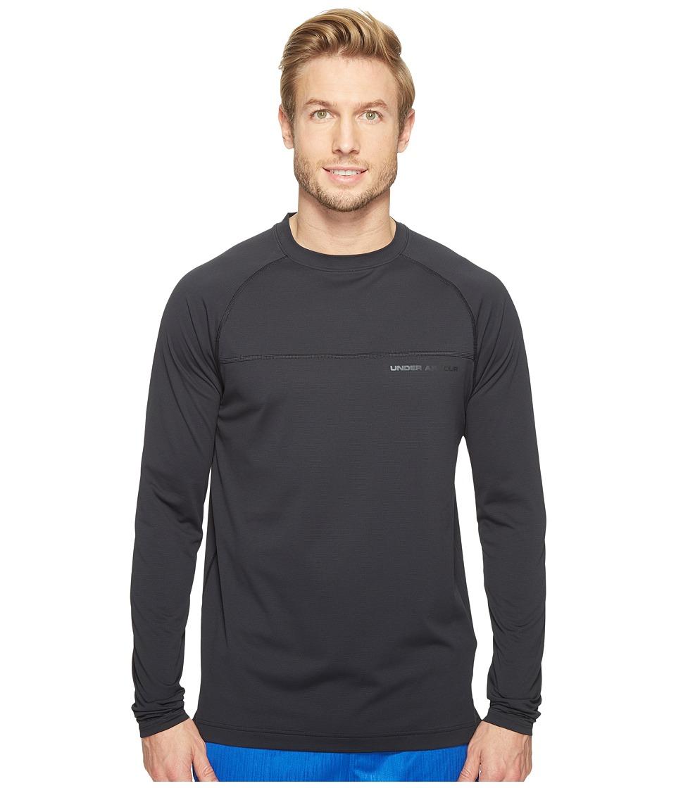 Under Armour - UA Sunblock Long Sleeve Shirt (Black/Black) Men's Long Sleeve Pullover