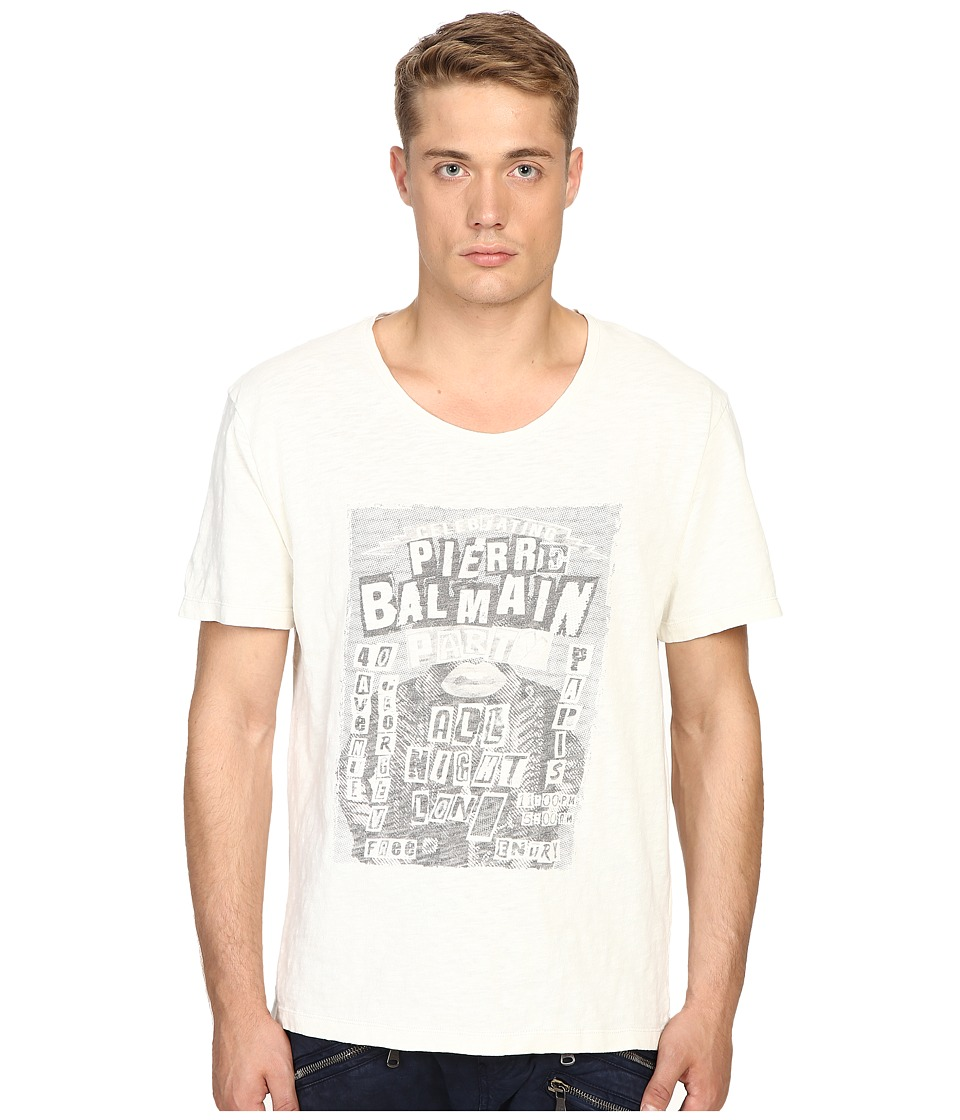 Pierre Balmain - Pierre Balmain T-Shirt (Off-White) Men's T Shirt