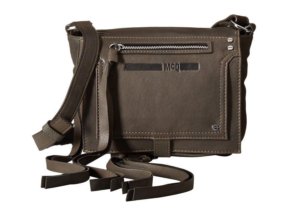 McQ - Mini Crossbody (Concrete) Cross Body Handbags