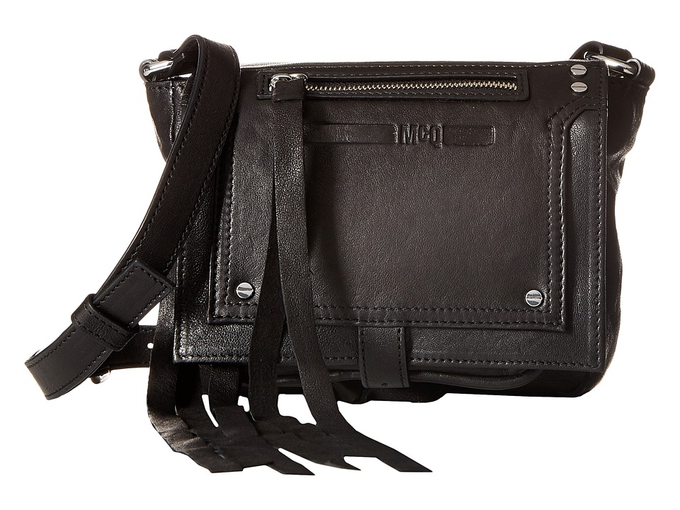 McQ - Mini Crossbody (Black) Cross Body Handbags