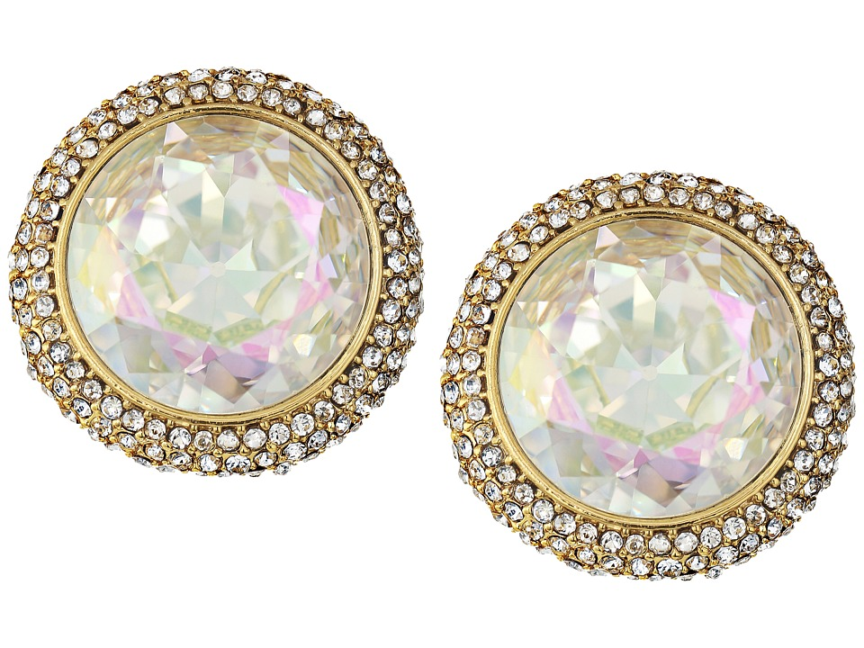 Kate Spade New York - Absolute Sparkle Round Studs (Crystal AB) Earring