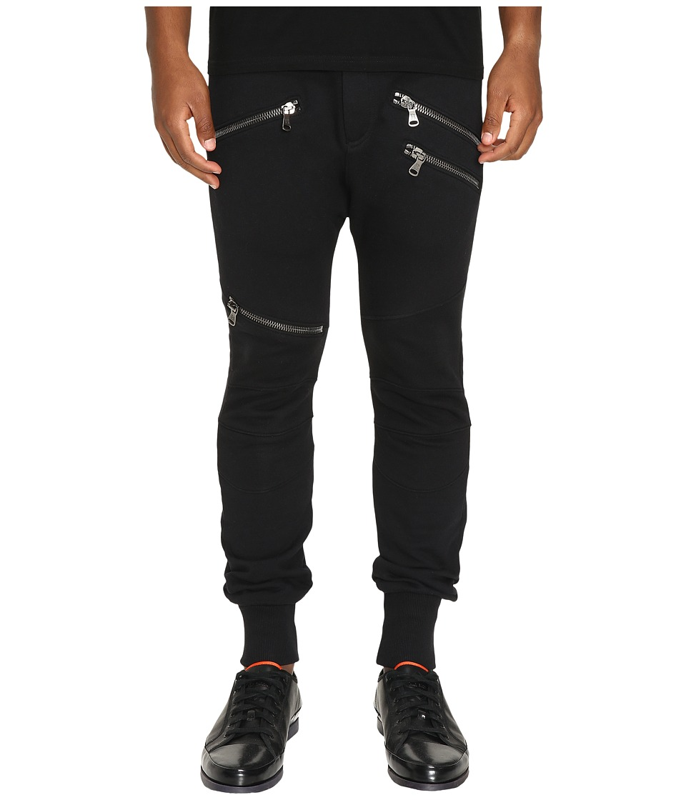 Pierre Balmain - Biker Sweatpants (Black) Men's Casual Pants