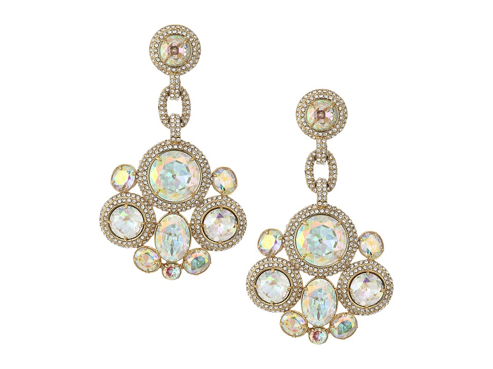 Kate Spade New York - Absolute Sparkle Statement Earrings (Crystal AB) Earring