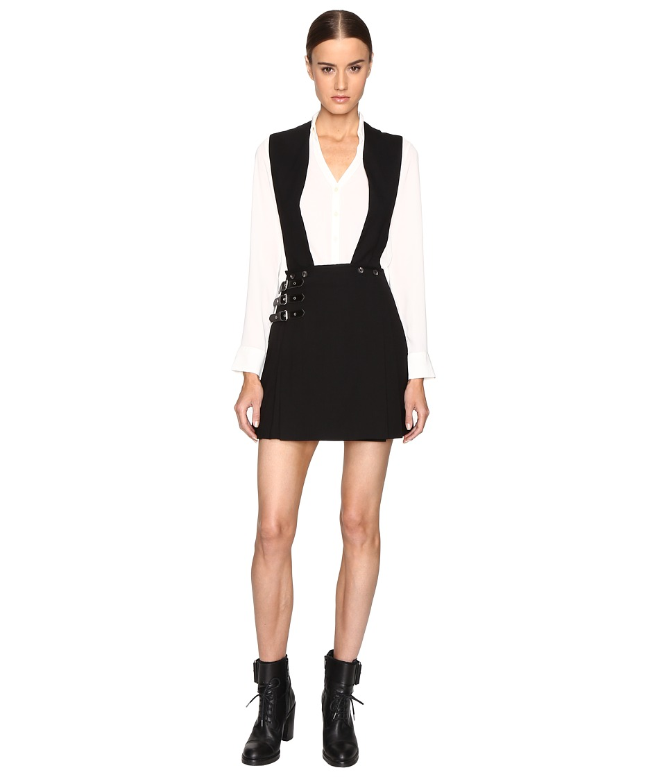 McQ - Kilt Pinafore (Black) Women's Dress