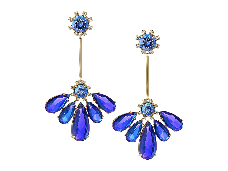 Kate Spade New York - Color Crush Drop Earrings (Sapphire) Earring