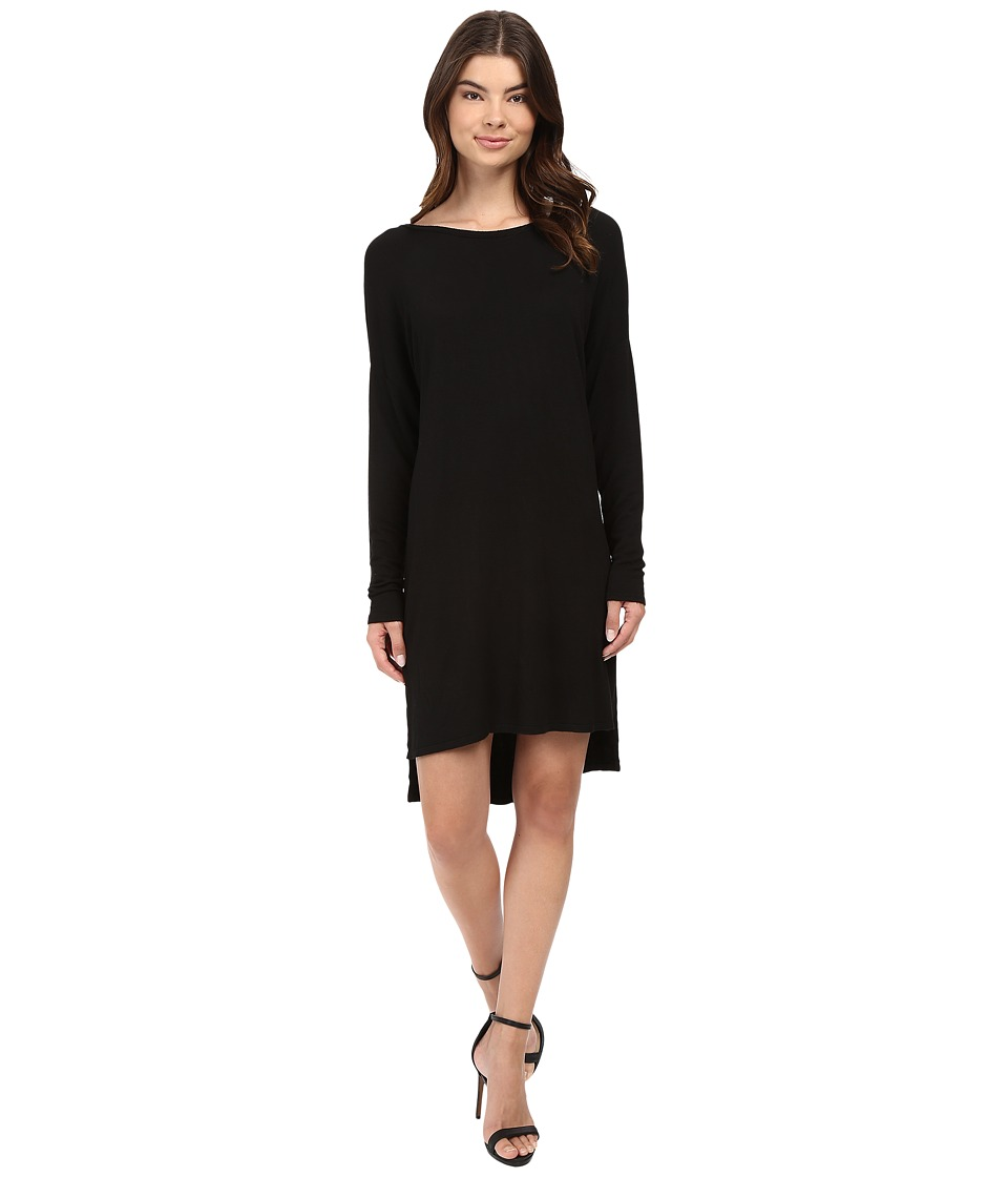 Project Social T - Violet Tunic Dress (Black) Women's Dress