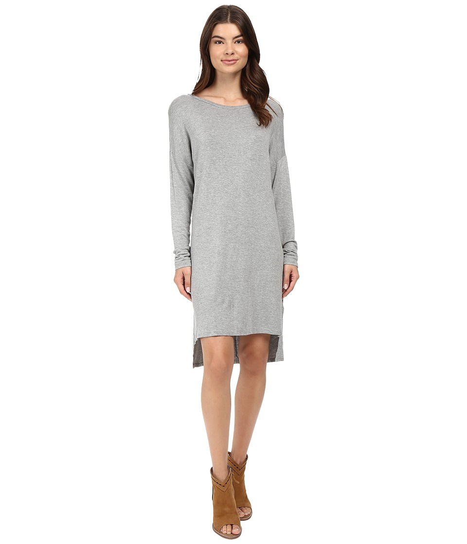 Project Social T - Violet Tunic Dress (Heather Grey) Women's Dress