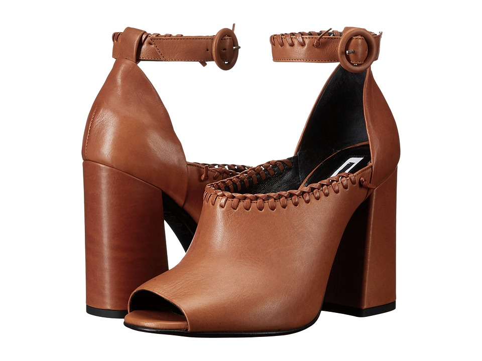 McQ Pembury Whip Stitch (Rust Veg Calf) High Heels