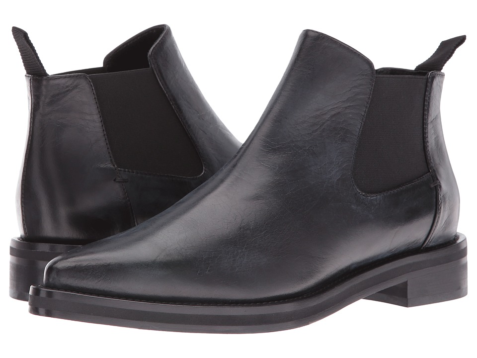 McQ - Redchurch Chelsea (Black Calf Leather) Women's Pull-on Boots