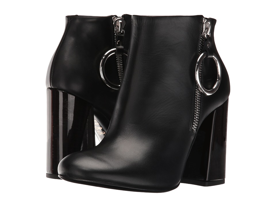 McQ - Pembury Harness Boot (Black Smooth Calf) Women's Zip Boots