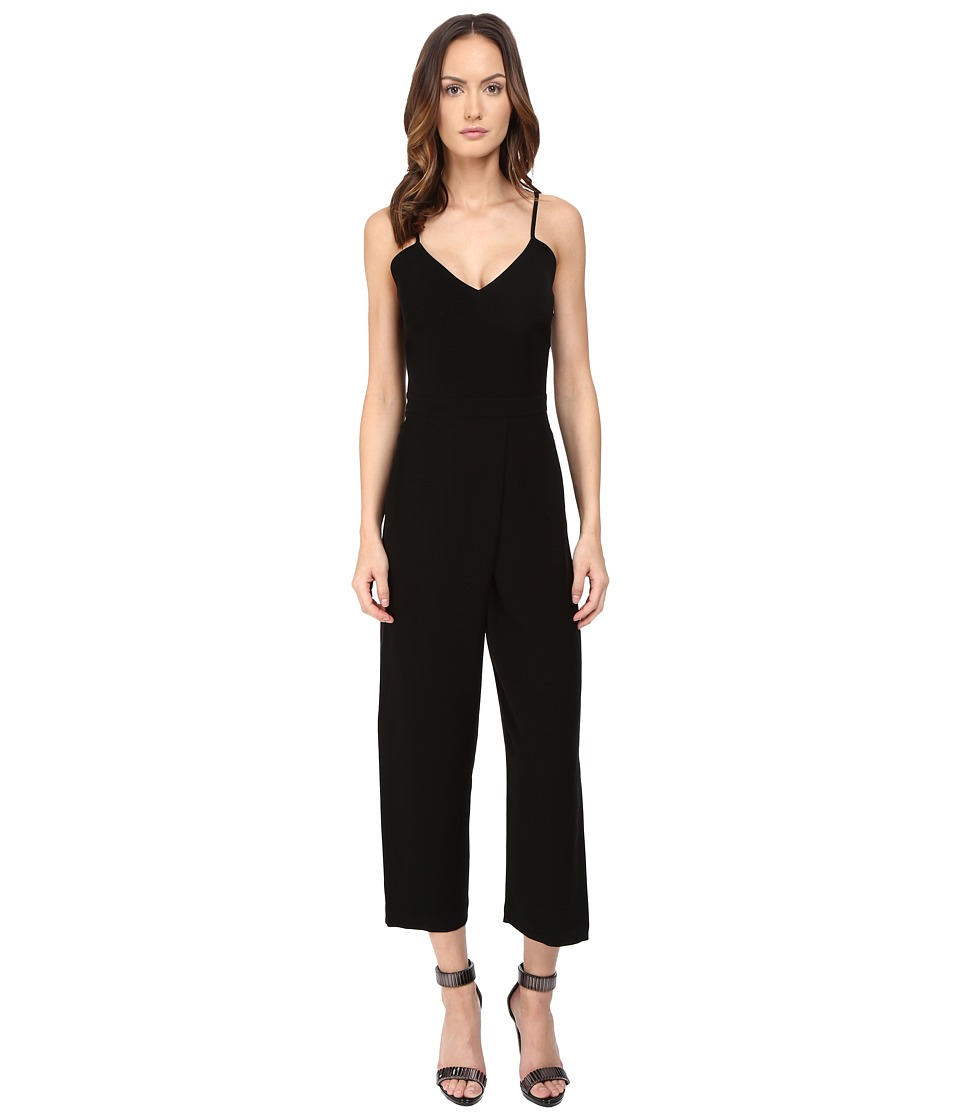 McQ - Cross Jumpsuit (Black) Women's Jumpsuit & Rompers One Piece