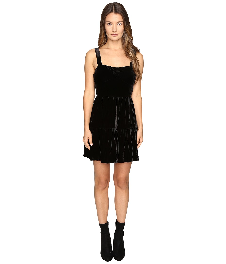 McQ - Short Gath.Panel Dress (Black) Women's Dress