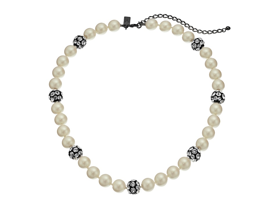 Kate Spade New York - Party Pearls Necklace (Cream Multi) Necklace