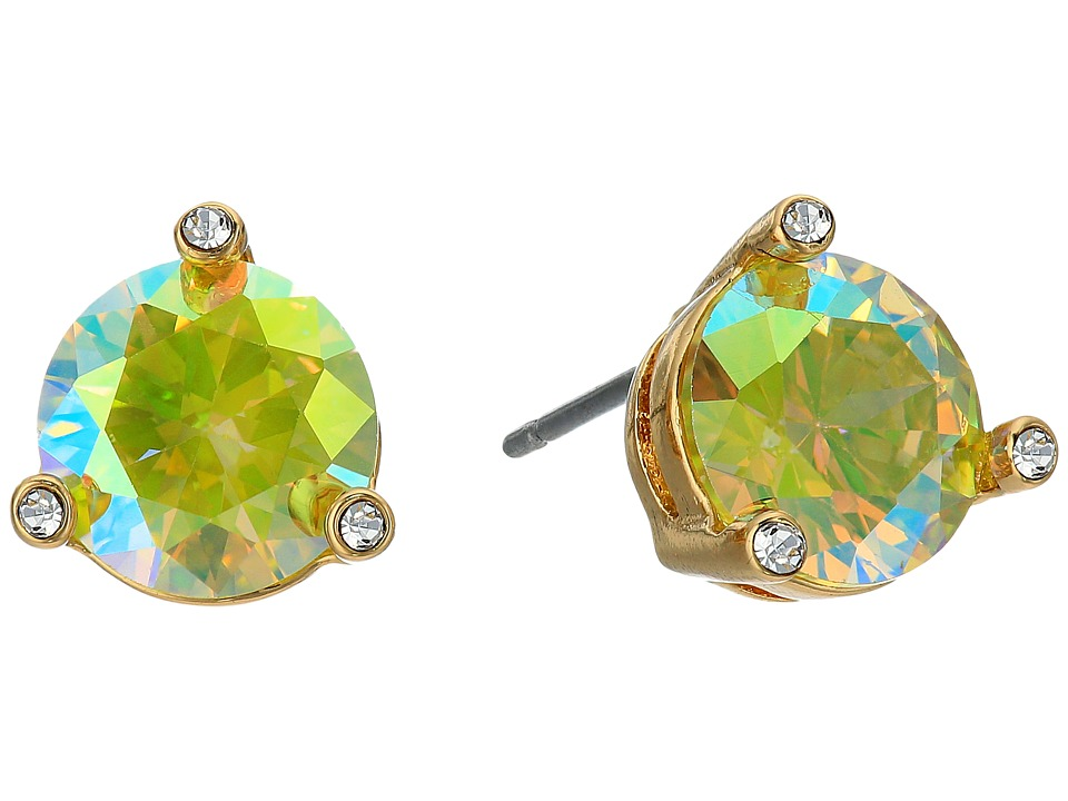 Kate Spade New York - Rise and Shine Small Studs (Peridot AB) Earring