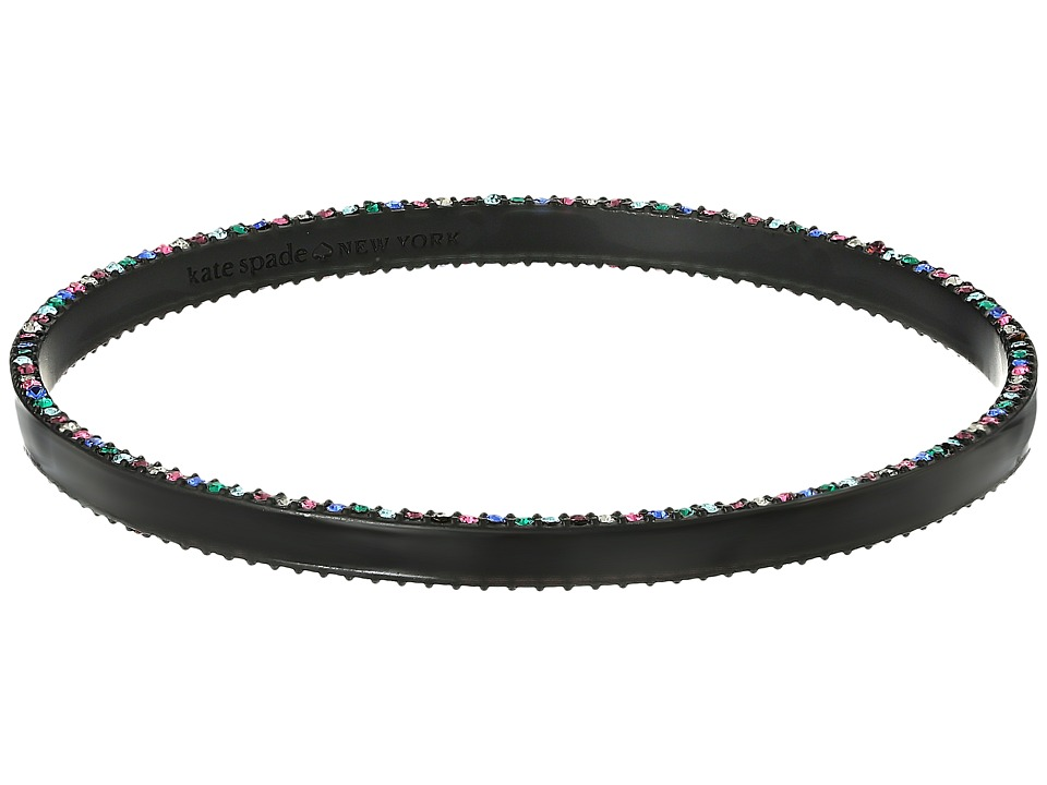 Kate Spade New York - The Bangles Enamel Bangle (Black Multi) Bracelet
