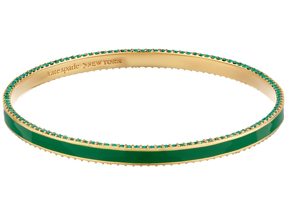 Kate Spade New York - The Bangles Enamel Bangle (Green Multi) Bracelet