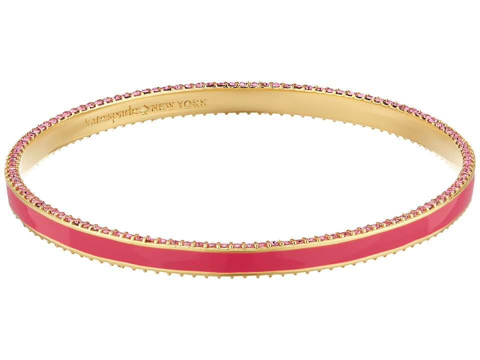Kate Spade New York - The Bangles Enamel Bangle (Pink Multi) Bracelet